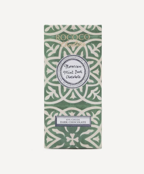 Chocolates Organic Moroccan Mint Chocolate Bar