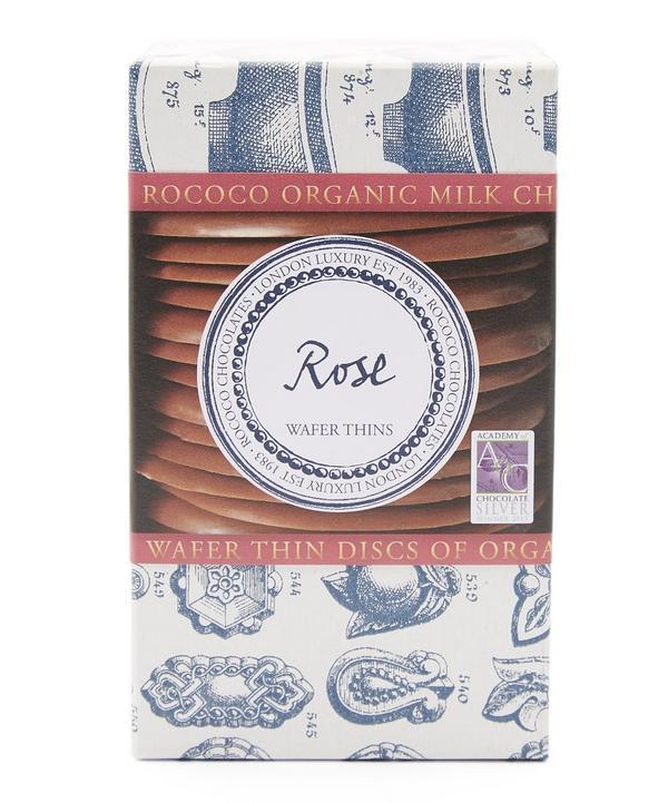 Rose Organic Milk Chocolate Wafer Thins 150g