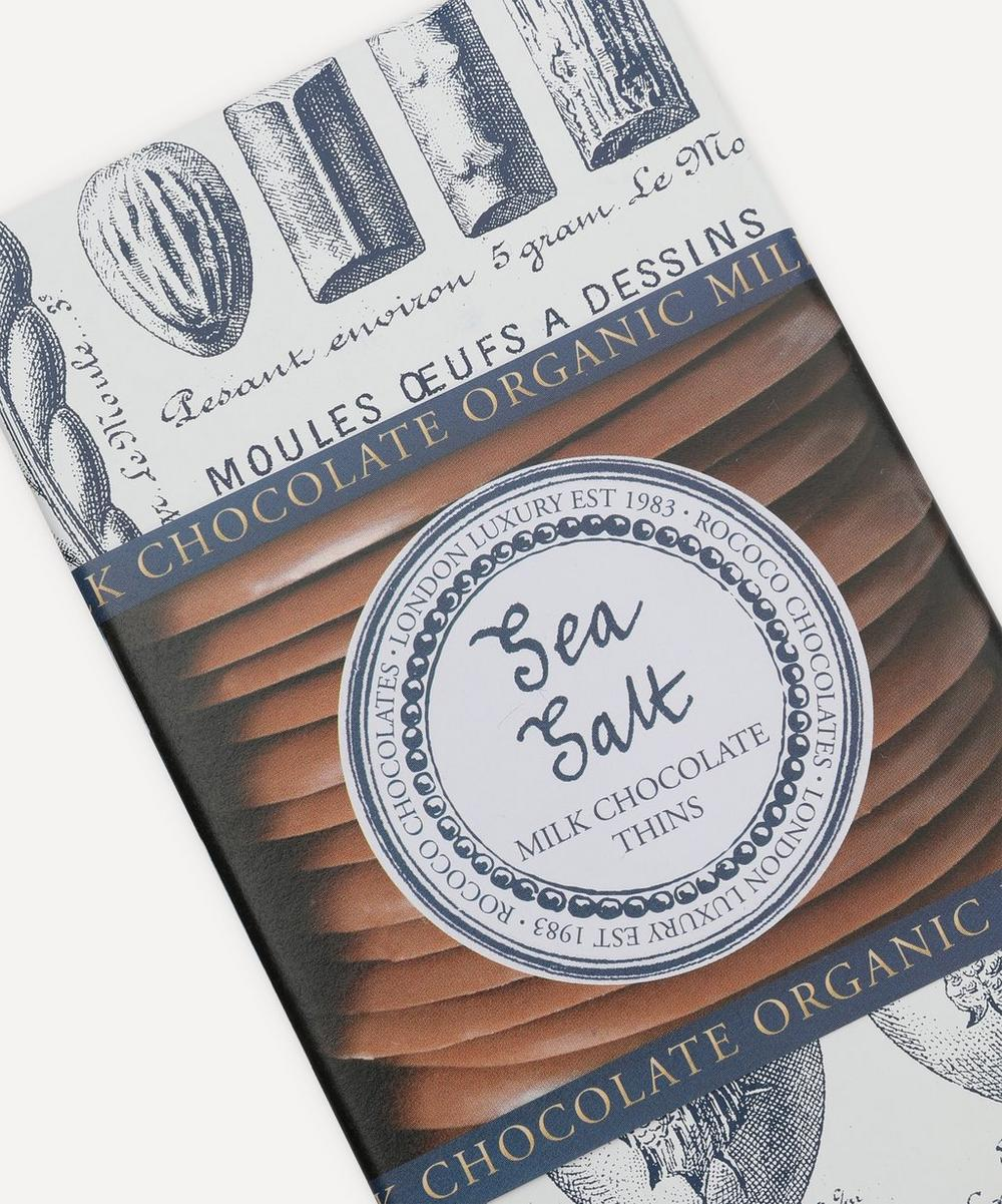 Organic Sea Salt Milk Chocolate Wafers