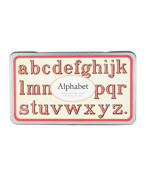 Lower Case Rubber Alphabet Stamps