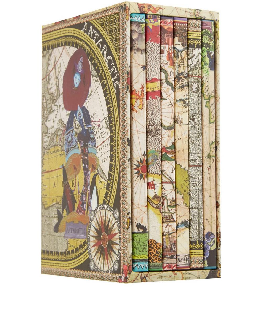 Boxed Set of Six Continents Notebooks