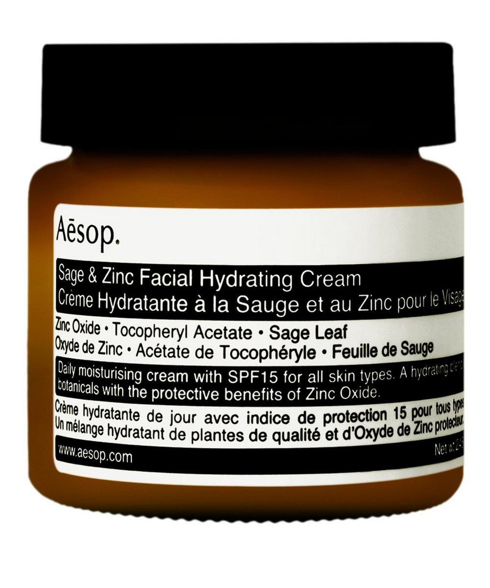 Large Sage and Zinc Facial Hydrating Cream SPF15 60ml