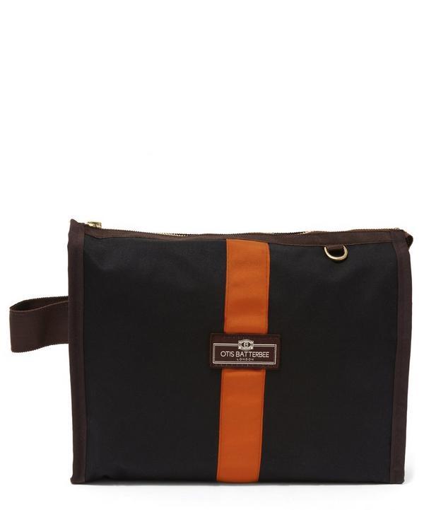 Small Waxed Grand Tour Wash Bag