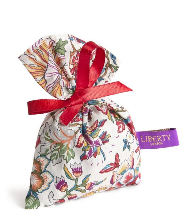 Small Liberty Print Lavender Bag