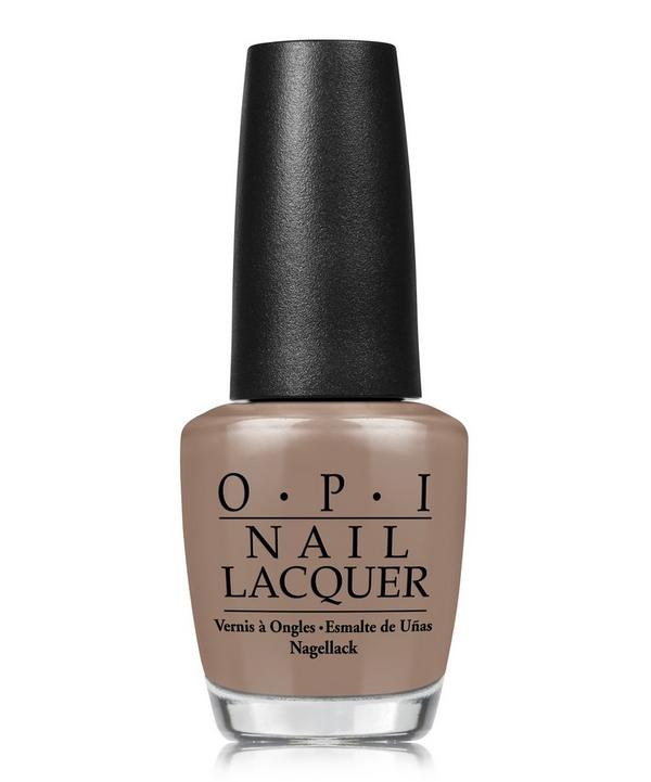 Nail Lacquer in Over the Taupe