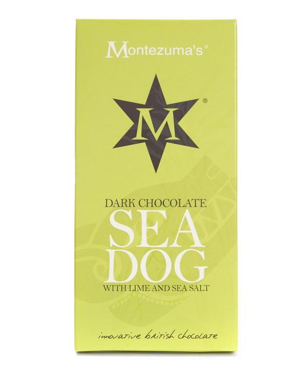 Sea Dog Dark Chocolate with Sea Salt and Lime Bar