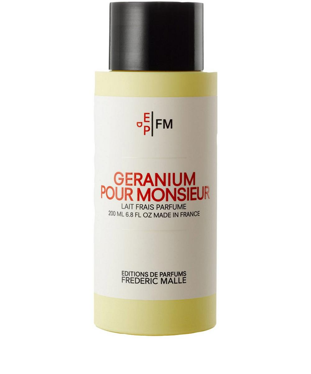 Geranium Pour Monsieur Body Milk 200ml