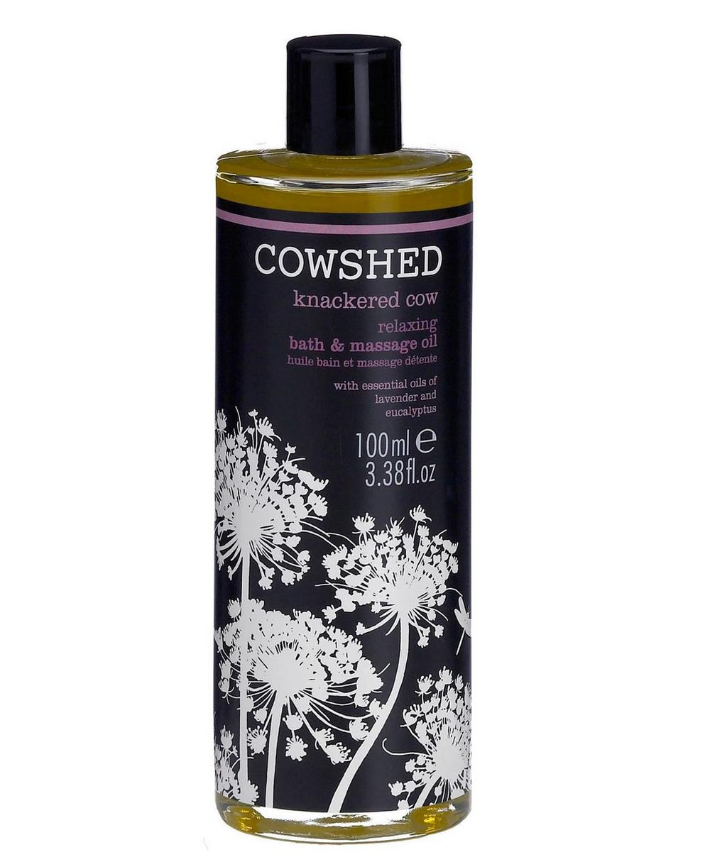 Knackered Cow Relaxing Bath and Body Oil 100ml