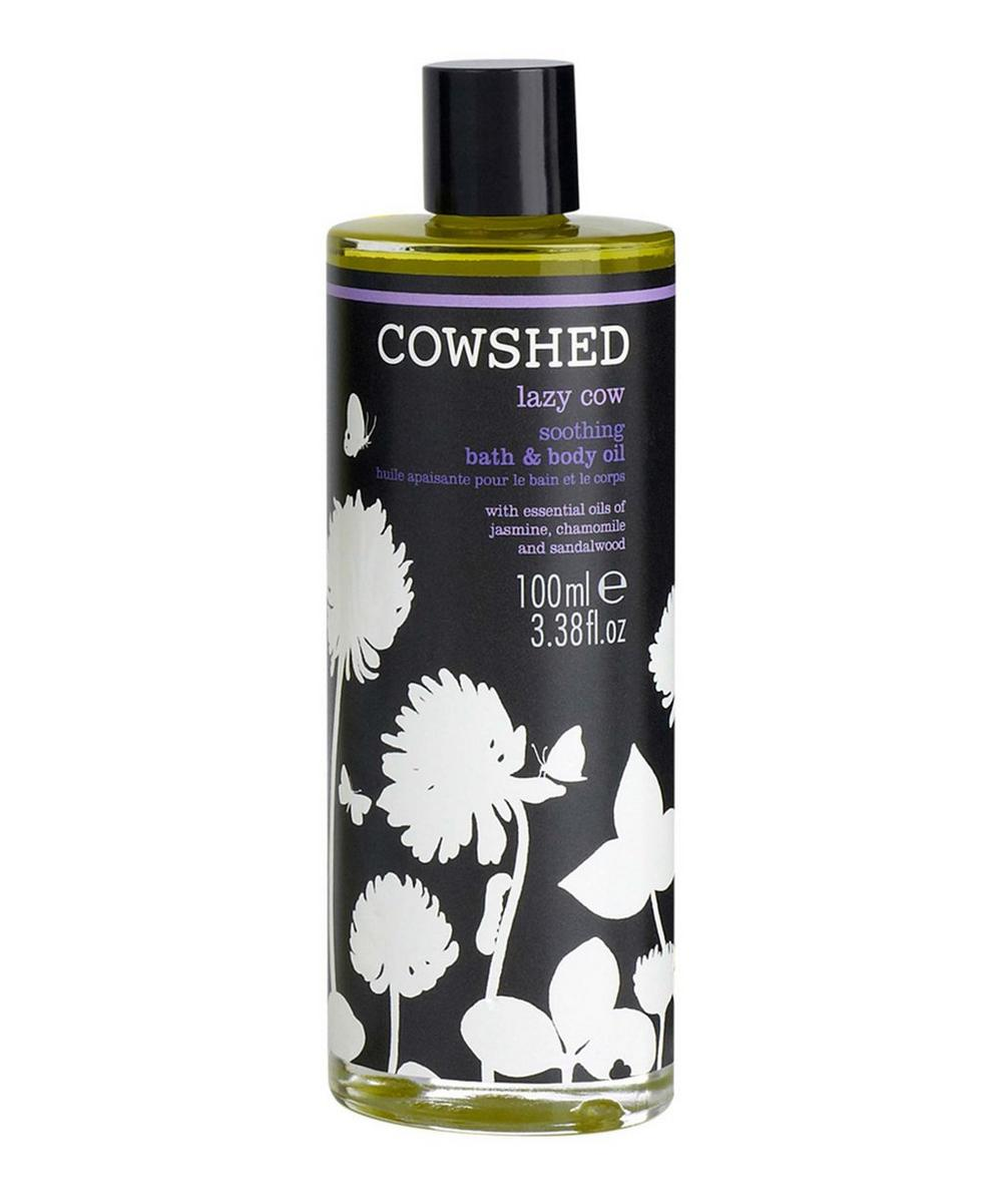 Lazy Cow Soothing Bath and Body Oil 100ml
