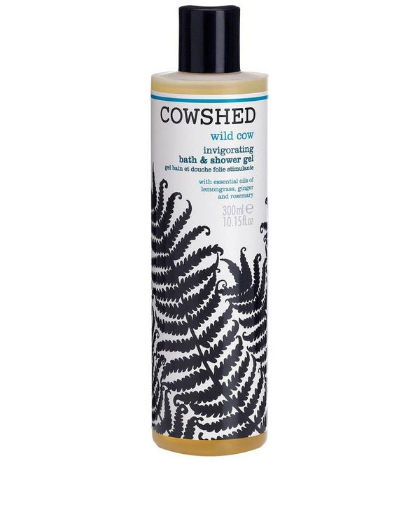 Wild Cow Invigorating Bath and Shower Gel 300ml