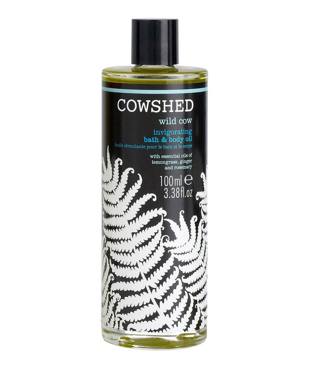 Wild Cow Invigorating Bath and Body Oil 100ml