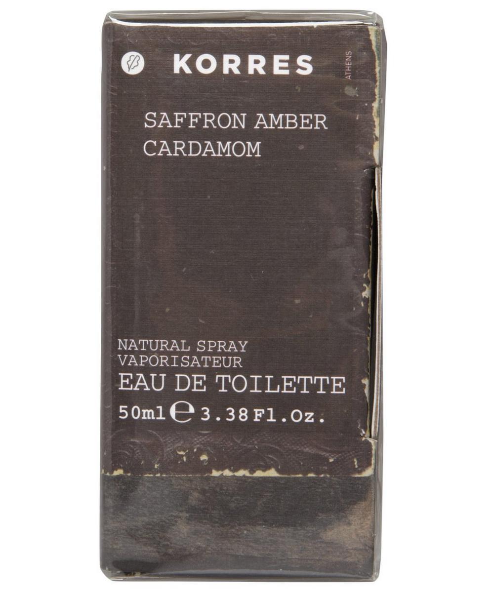 Saffron, Amber, Cardamom Eau de Toilette 50ml