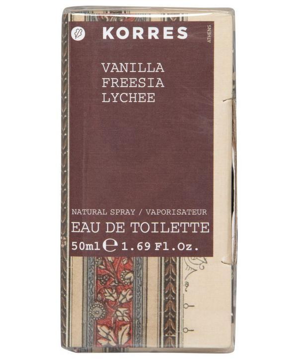 Vanilla, Freesia, Lychee Eau de Toilette 50ml