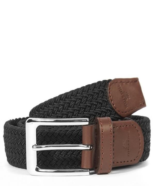 Black Woven Belt, Tyler Tyler