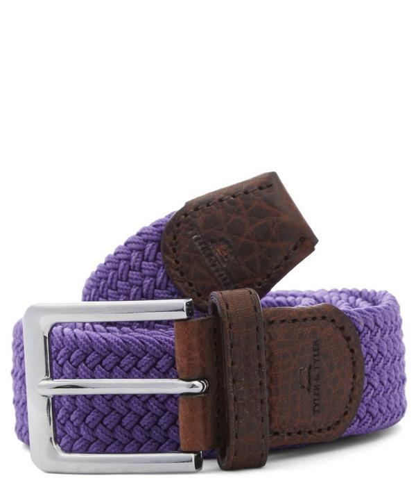 Purple Woven Belt, Tyler Tyler
