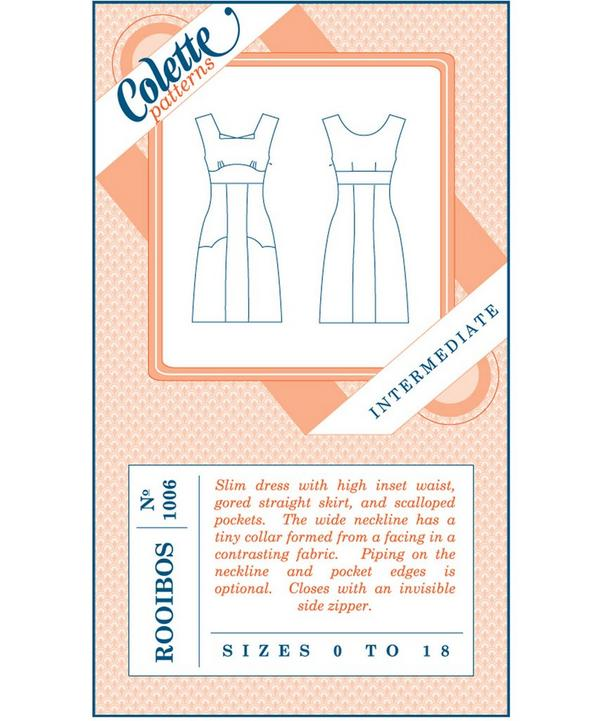 Rooibos Slim Dress Pattern