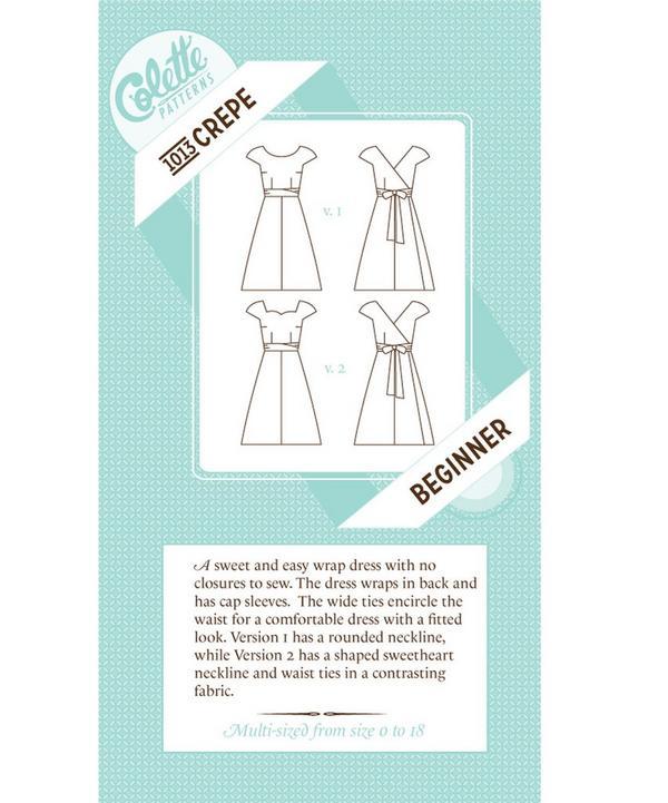 Crepe Dress Sewing Pattern