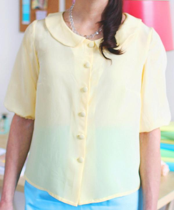 Violet Blouse Sewing Pattern