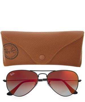 Coloured Lens Aviator Sunglasses