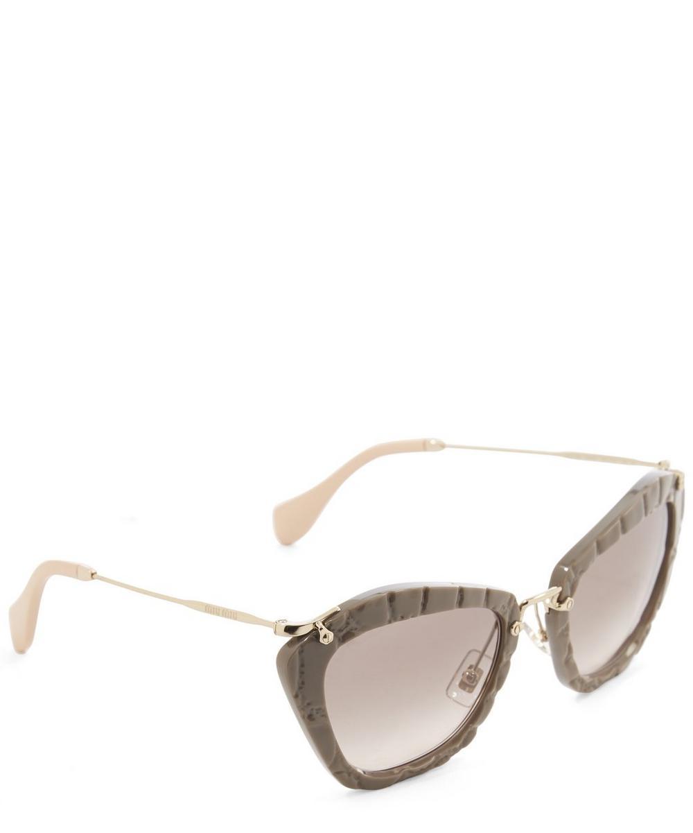 Acetate Cat Eye Sunglasses