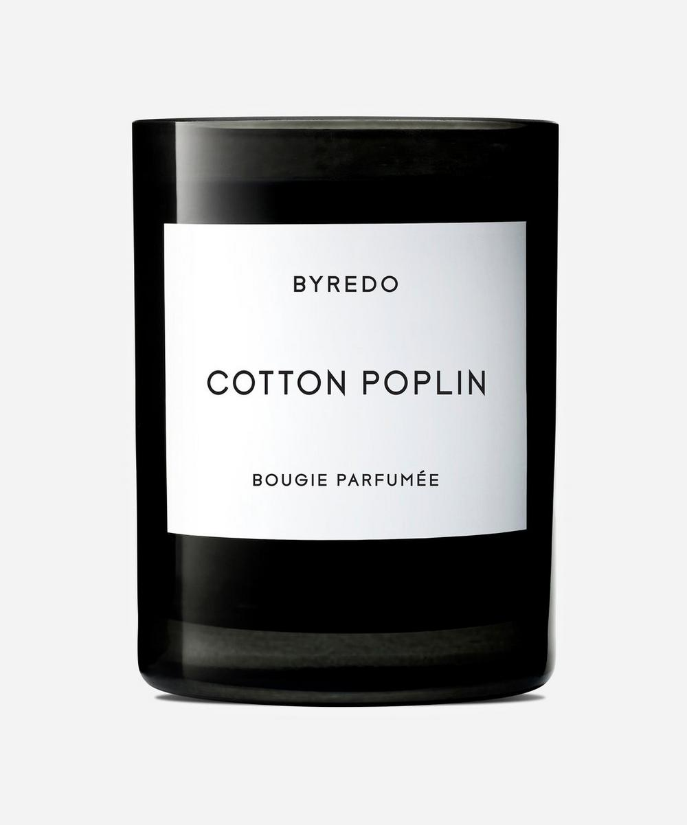 Cotton Poplin Fragranced Candle 240g