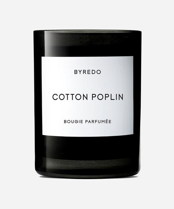 Cotton Poplin Fragranced Candle