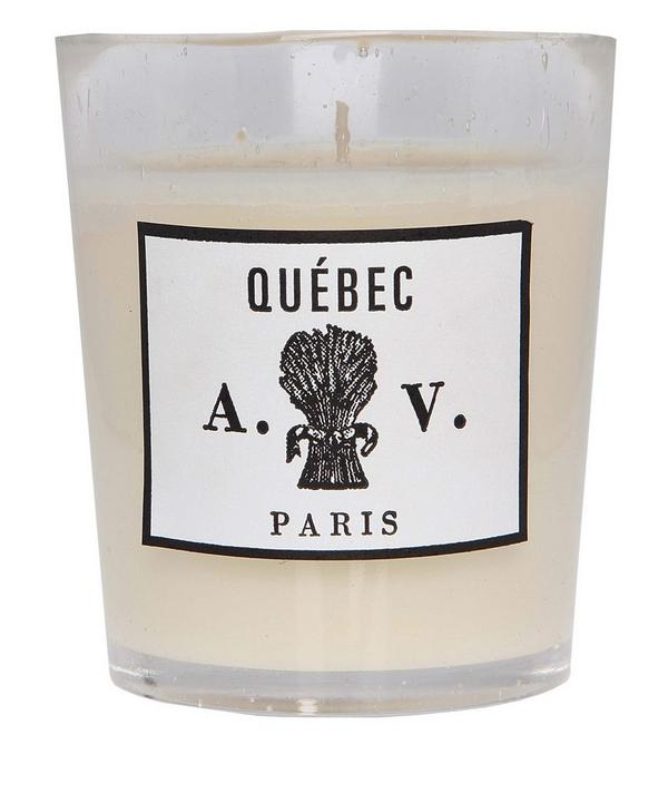 Quebec Scented Candle in Glass 260g