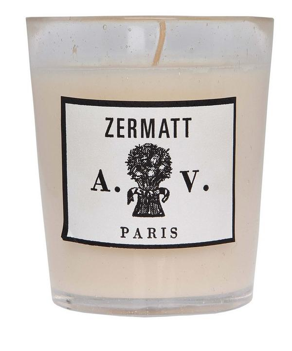 Zermatt Scented Candle in Glass 260g