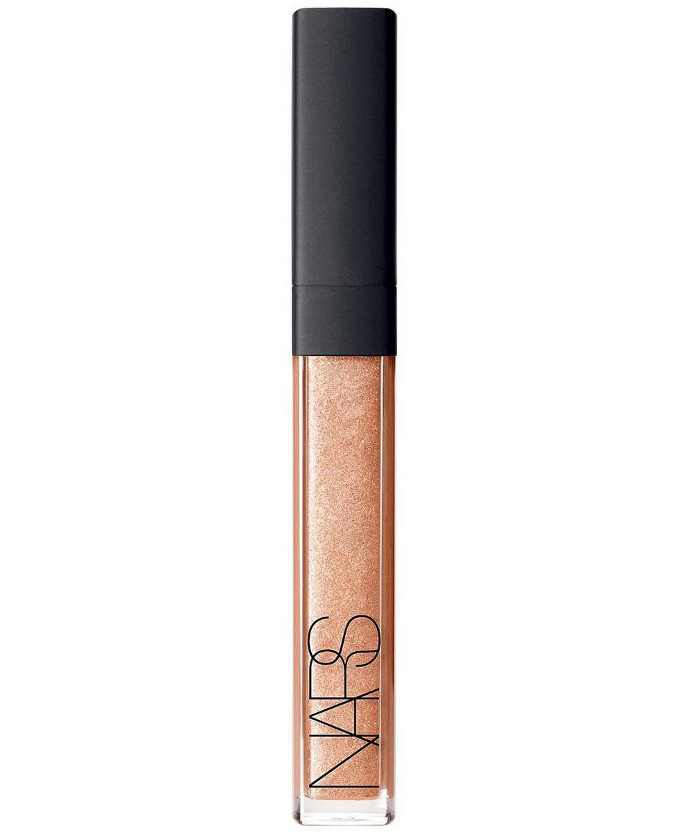 Large Than Life Lip Gloss in Gold Digger