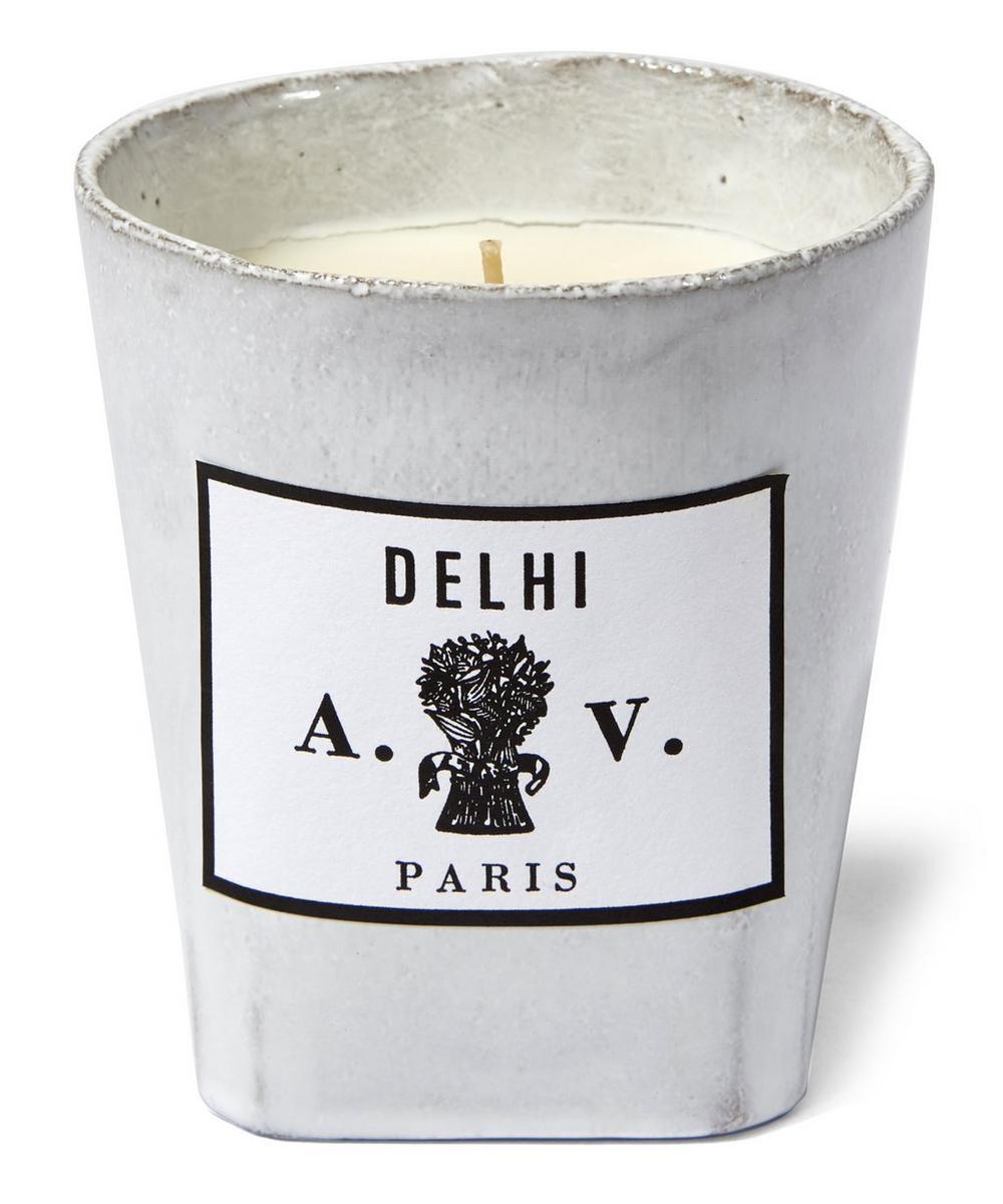 Delhi Scented Ceramic Candle 220g