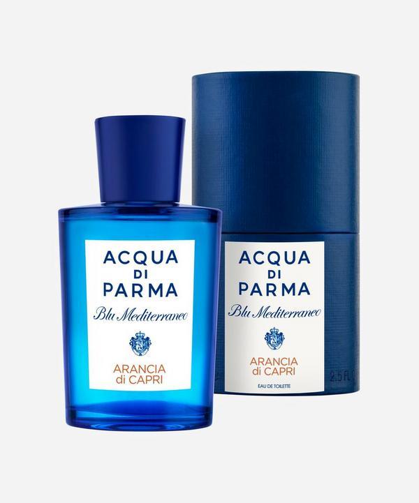 Arancia di Blu Mediterraneo Capri Eau de Toilette 75ml, Acqua di Parma