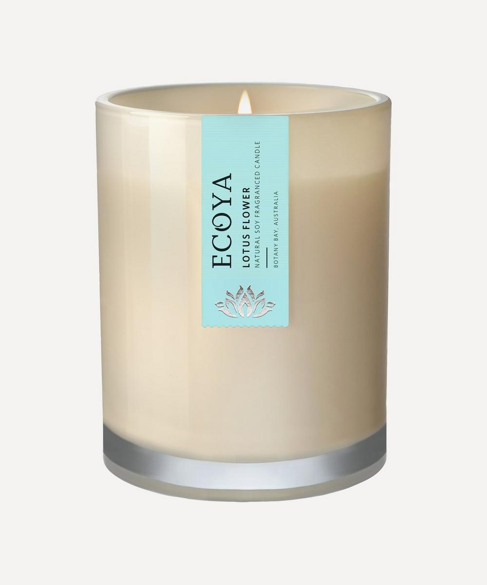 Lotus Flower Metro Jar Candle