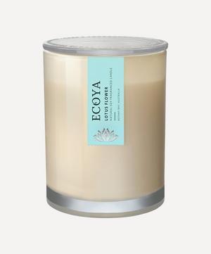 Lotus Flower Metro Jar Candle