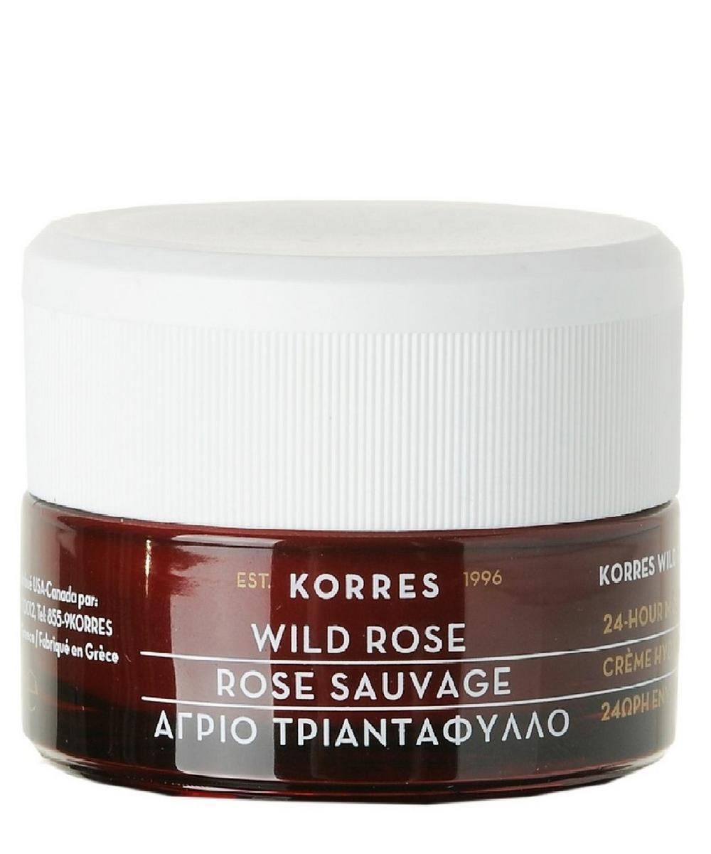 Wild Rose 24 Hour Moisturising and Brightening Cream 40ml