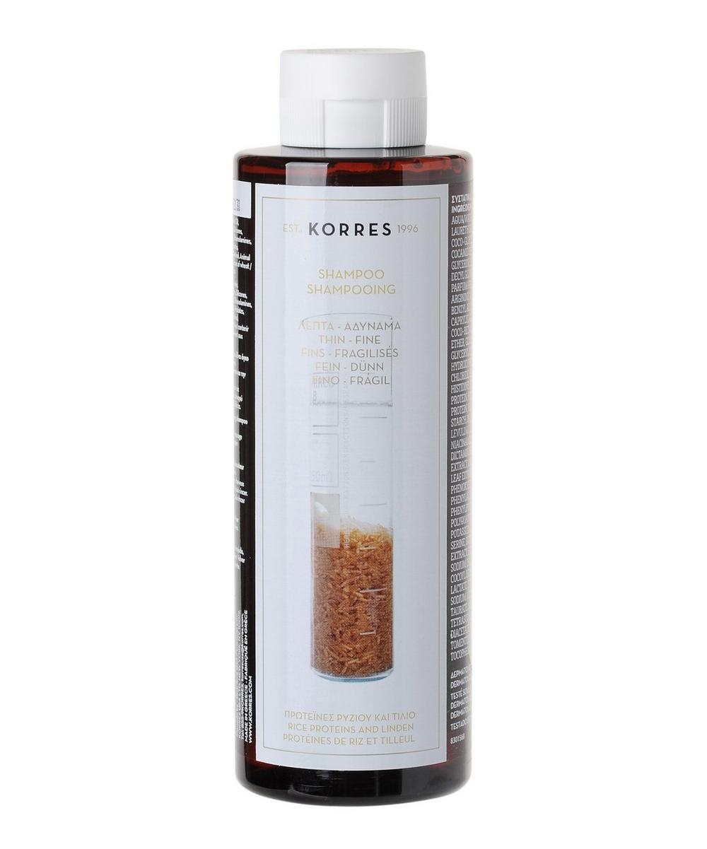 Rice Proteins and Linden Shampoo 250ml
