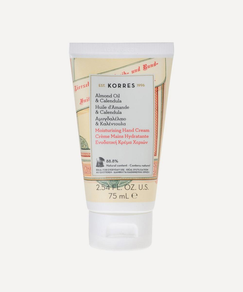 Almond Oil and Calendula Moisturising Hand Cream 75ml