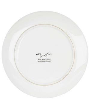 Large Masked Skull Swirl Perfect Plate
