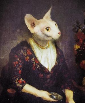 Alice Cat Tray