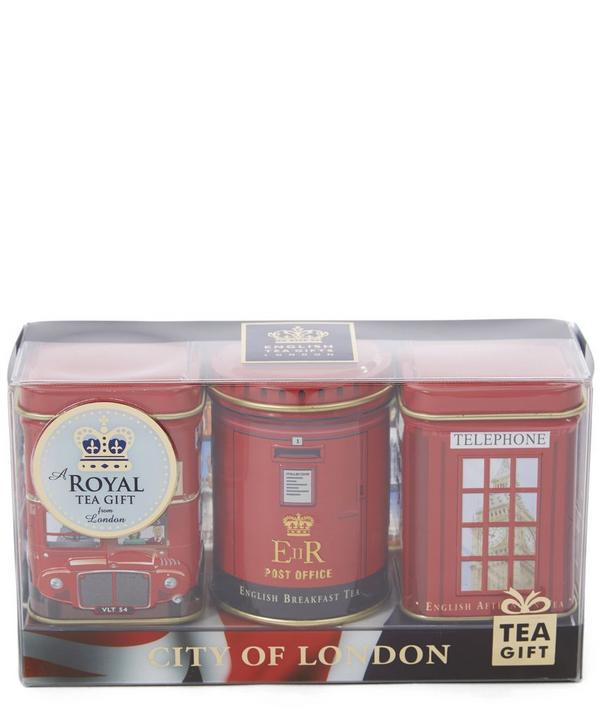 City of London Tea Trio