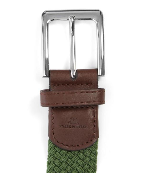Green Woven Belt
