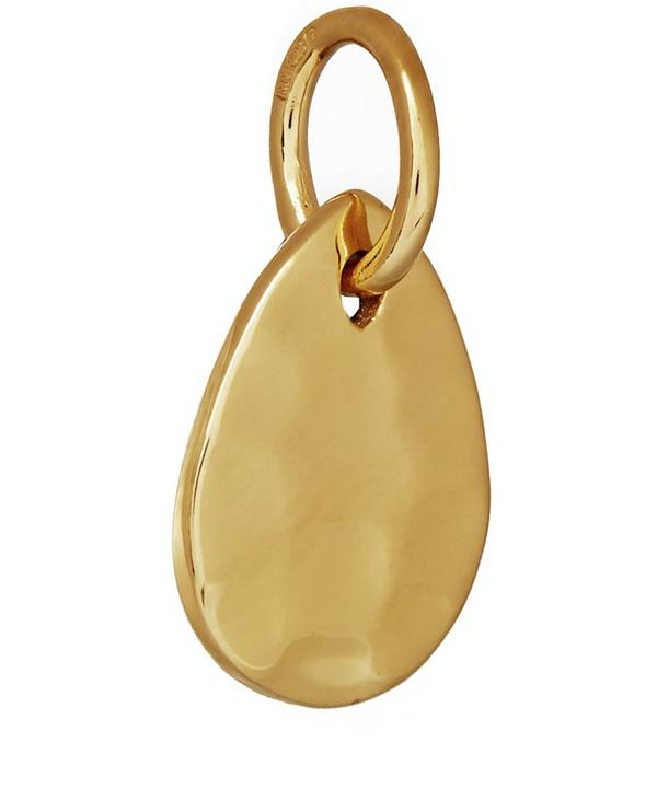 Gold Vermeil Ziggy Mini Petal Pendant