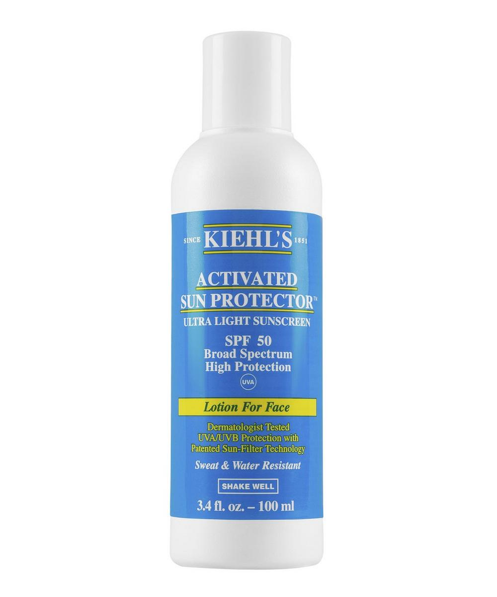 Activated Sun Protection For Face Spf 50 100ml