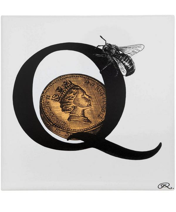 Queen Bee Commemorative Diamond Jubilee Tile