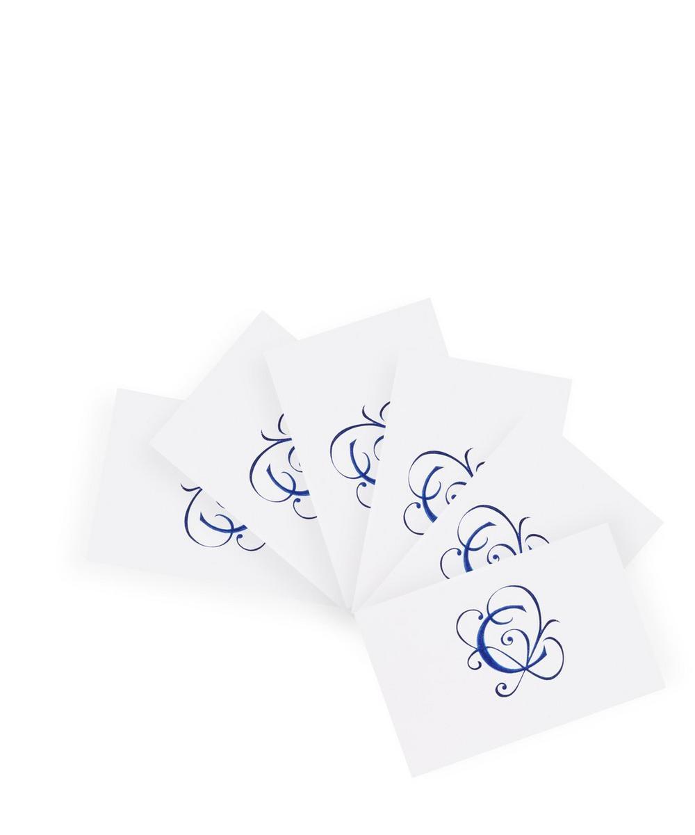 Blue Alphabet C Card Set