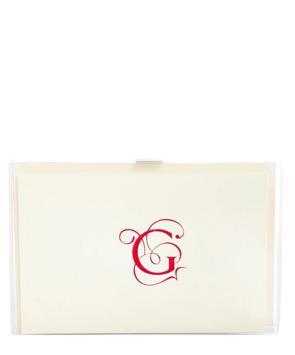 BA3 SET 6 RED ALPHABET CARD