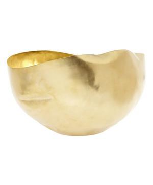 Large Brass Bash Vessel