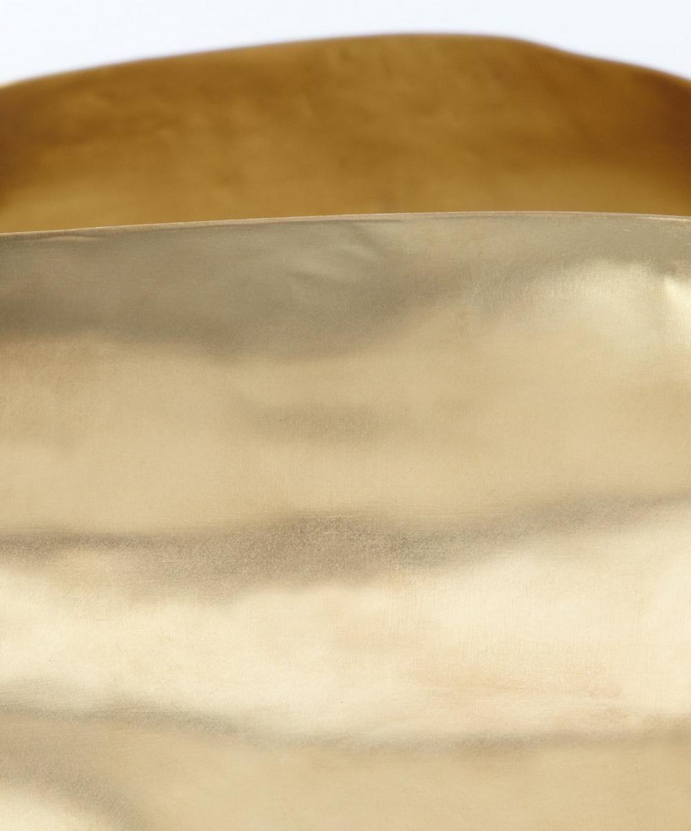 Small Brass Bash Vessel