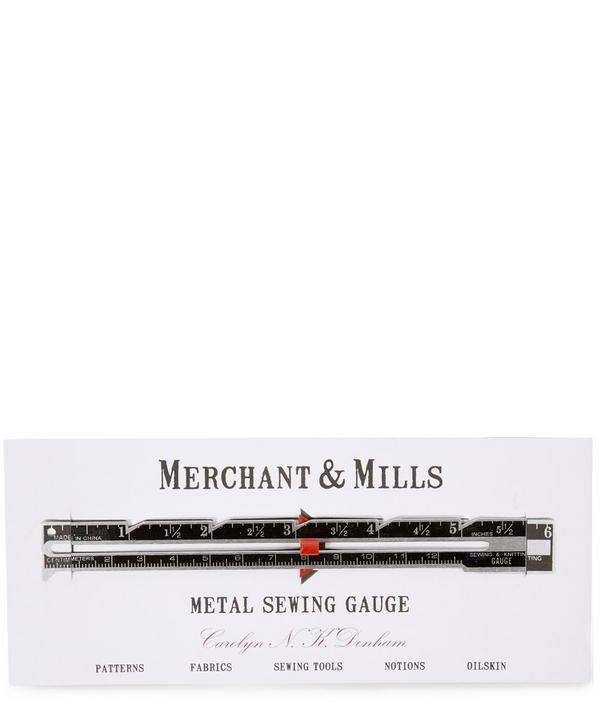 Metal Sewing Gauge