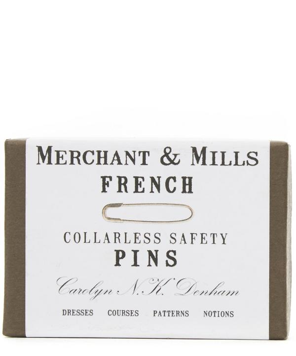 Collarless French Safety Pins