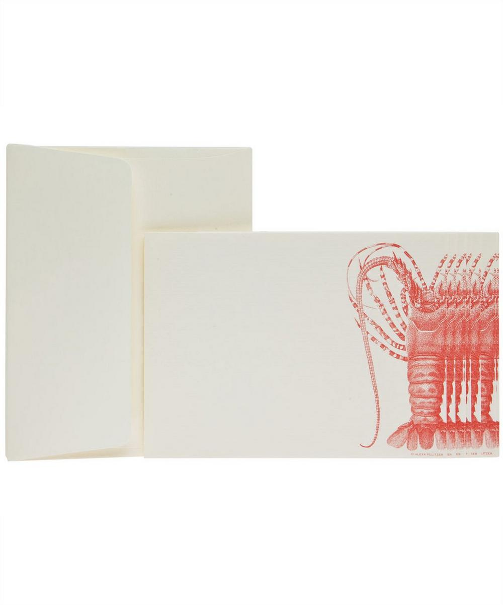 Lobster A2 Note Card Set